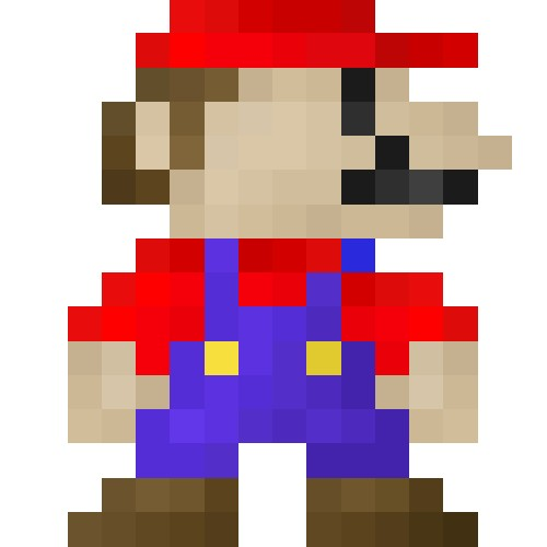 16x16 pixel art 19 early mario revamped minecraft blog