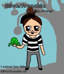 OliverFrenchie art Minecraft