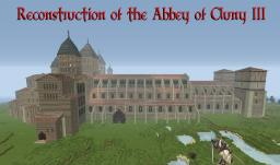 Reconstruction Abbey of Cluny III Minecraft Map & Project
