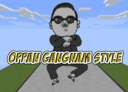 PSY - Gangnam Style Pixelart Minecraft Project