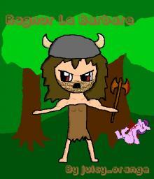Ragnur Le Barbare art [WARNING: NOT SUITABLE FOR YOUNG CHILDREN] Minecraft