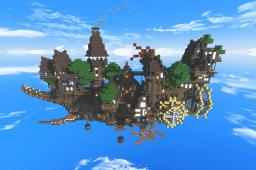 Cloud chaser - Village in the sky Minecraft Project