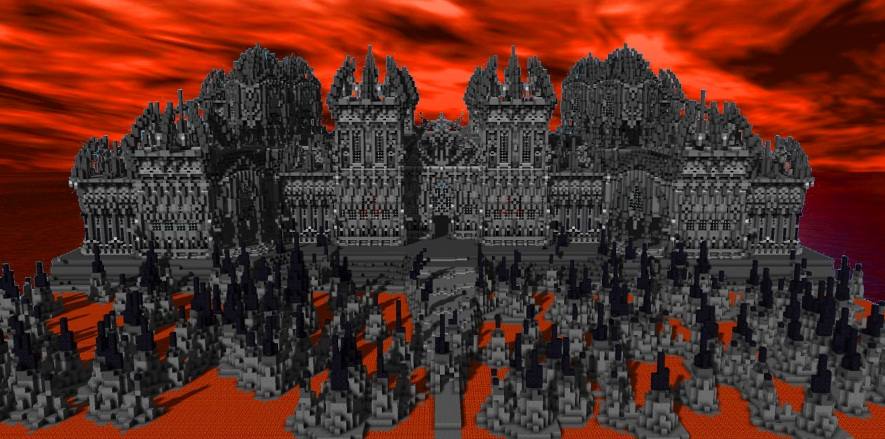 Evil Manor Minecraft Project