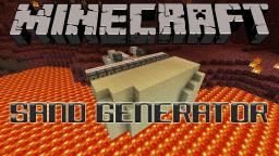 Sand Generator For Minecraft 1.3 Tutorial Minecraft Map & Project