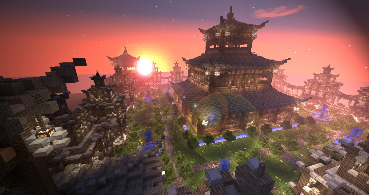 Update Japanese Fortress Minecraft Project