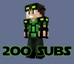 200 subsciber HD skin and Texture pack! Minecraft