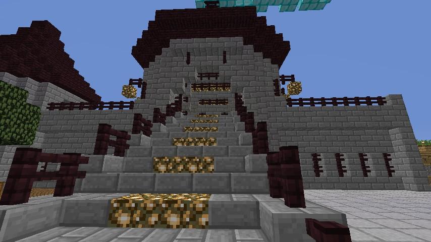 Nether Castle Schematic Spawn Minecraft Project