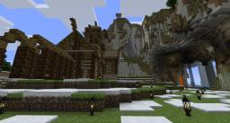 Skyrim Dragonsreach Inspired Castle Minecraft Map & Project