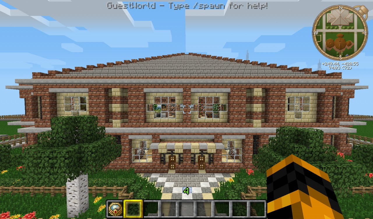 Stone Mansion Minecraft Project