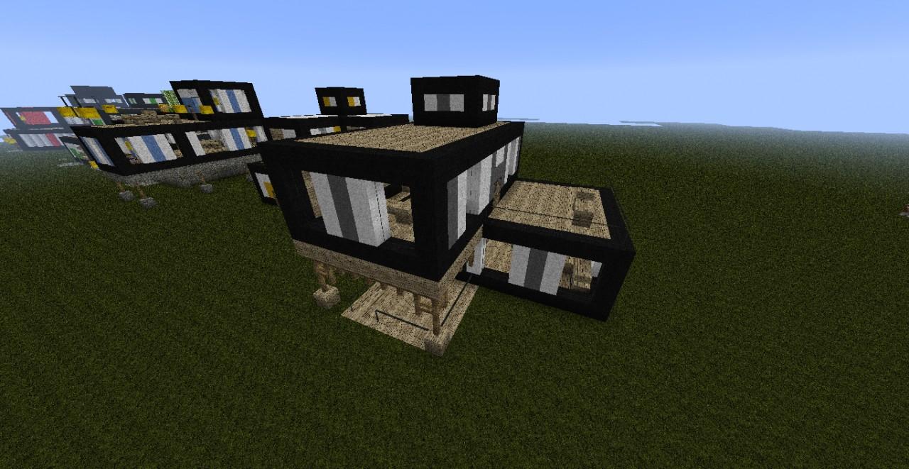 Amazing modern house bundle minecraft project for Amazing modern houses minecraft