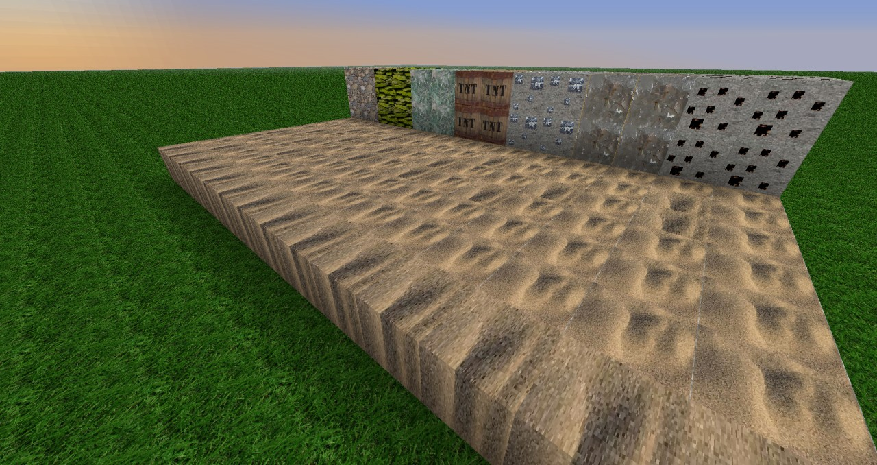 MINECRAFT IN REAL LIFE ( 256x256 ) Minecraft Texture Pack