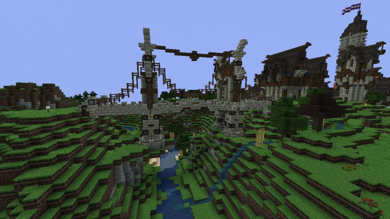 Medieval Bridge V1 Minecraft Project
