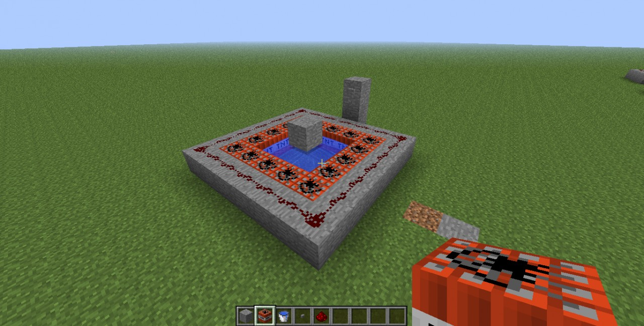 How to Make a Player TNT Cannon Minecraft Blog