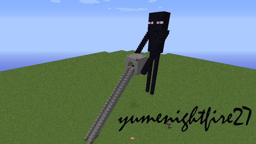 Enderman Statue End Portal