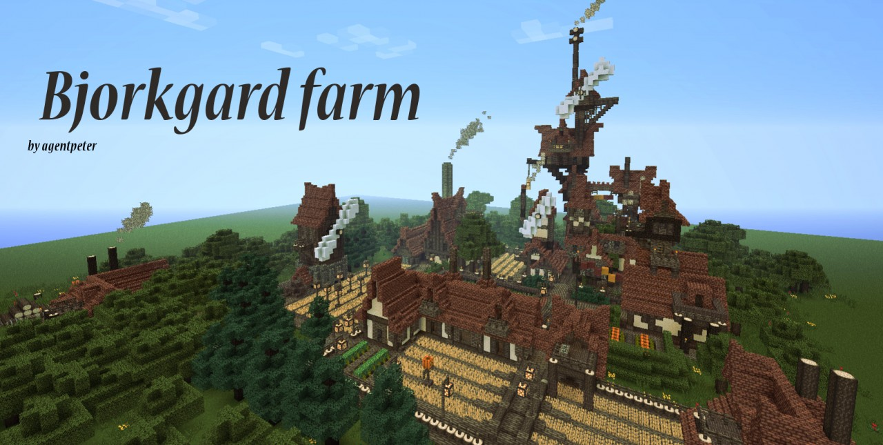 Bjorkgard farm (The return) Minecraft Project