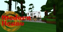 Modern House 17x16 And Beauty Canyon! Minecraft Map & Project
