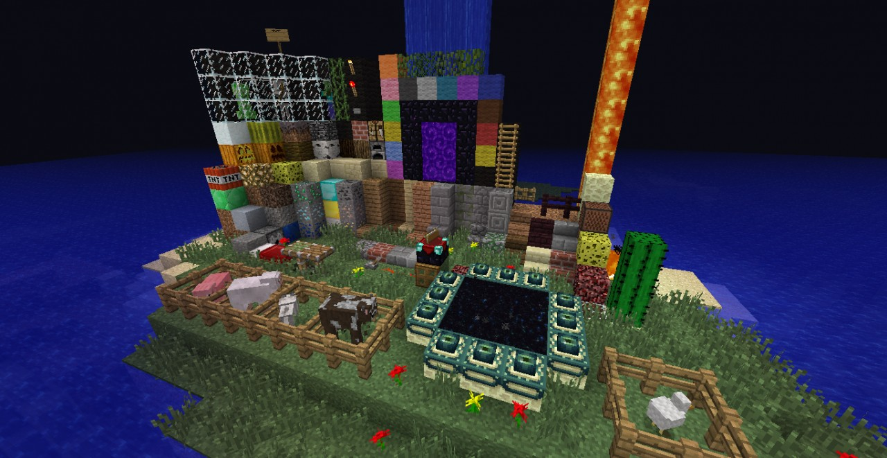 map to present texture pack Minecraft Project