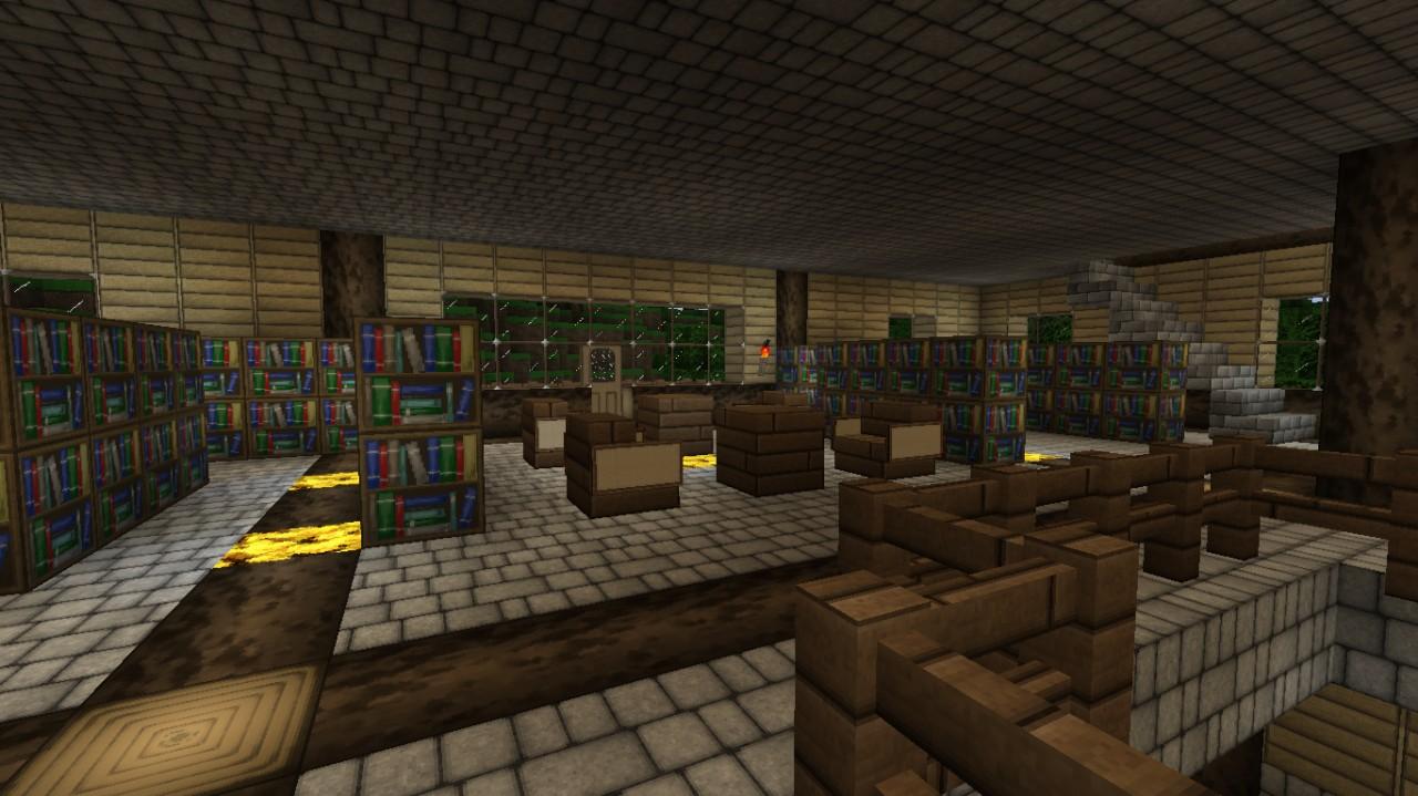как сделать библиотеку в майнкрафт #11