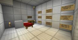 Human Testing Minecraft Map & Project