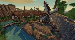 Raliviel - Medieval Town Minecraft Project