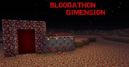 Bloodathon (Dimension) (Huge MOD) (Tons of New features) Minecraft