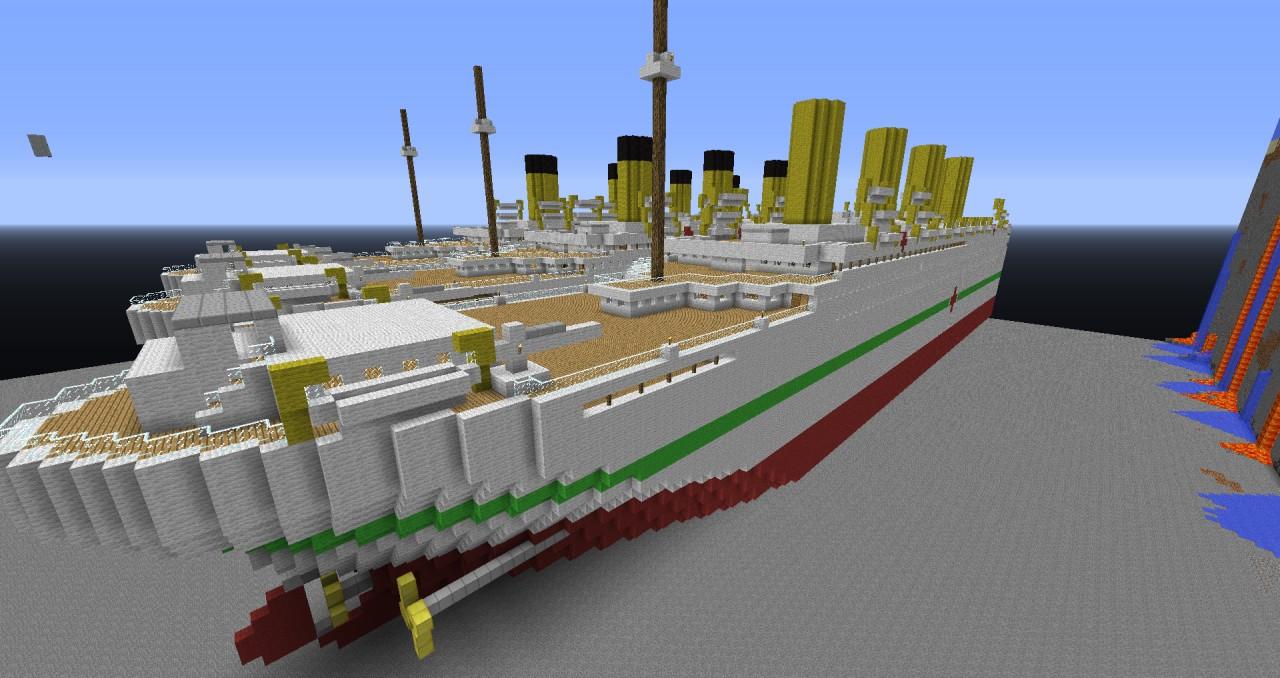 Hmhs Britannic Minecraft Project
