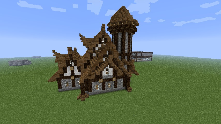 Medieval Nordic Style House Minecraft Project