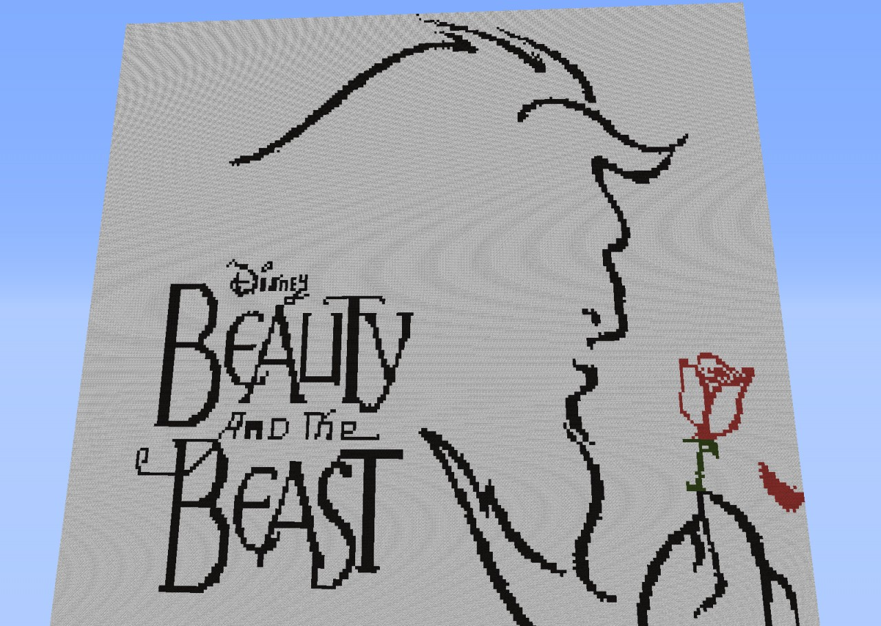 Beauty And The Beast Broadway Pixel Art Requested
