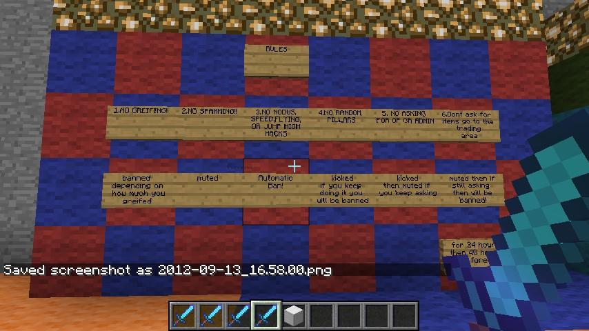 Grief: Minecraft Griefing Servers