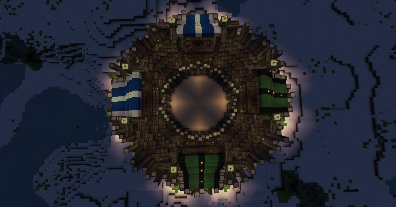 Minecraft maps arena - 9c6e5