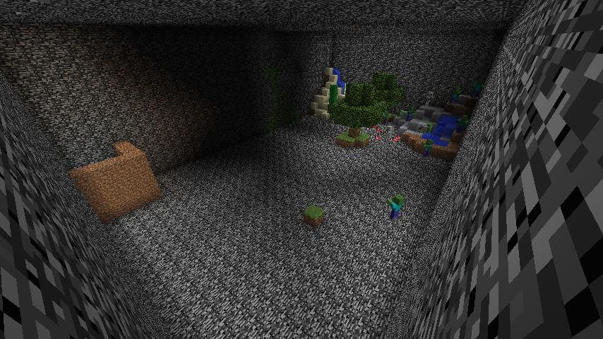 survival underground bedrock prison minecraft project