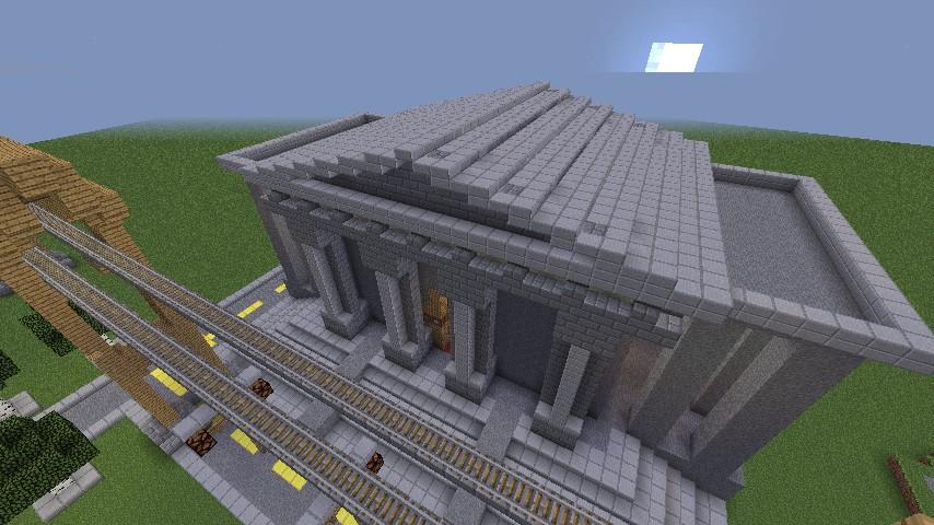 Gotham City - Batman Begins Minecraft Project