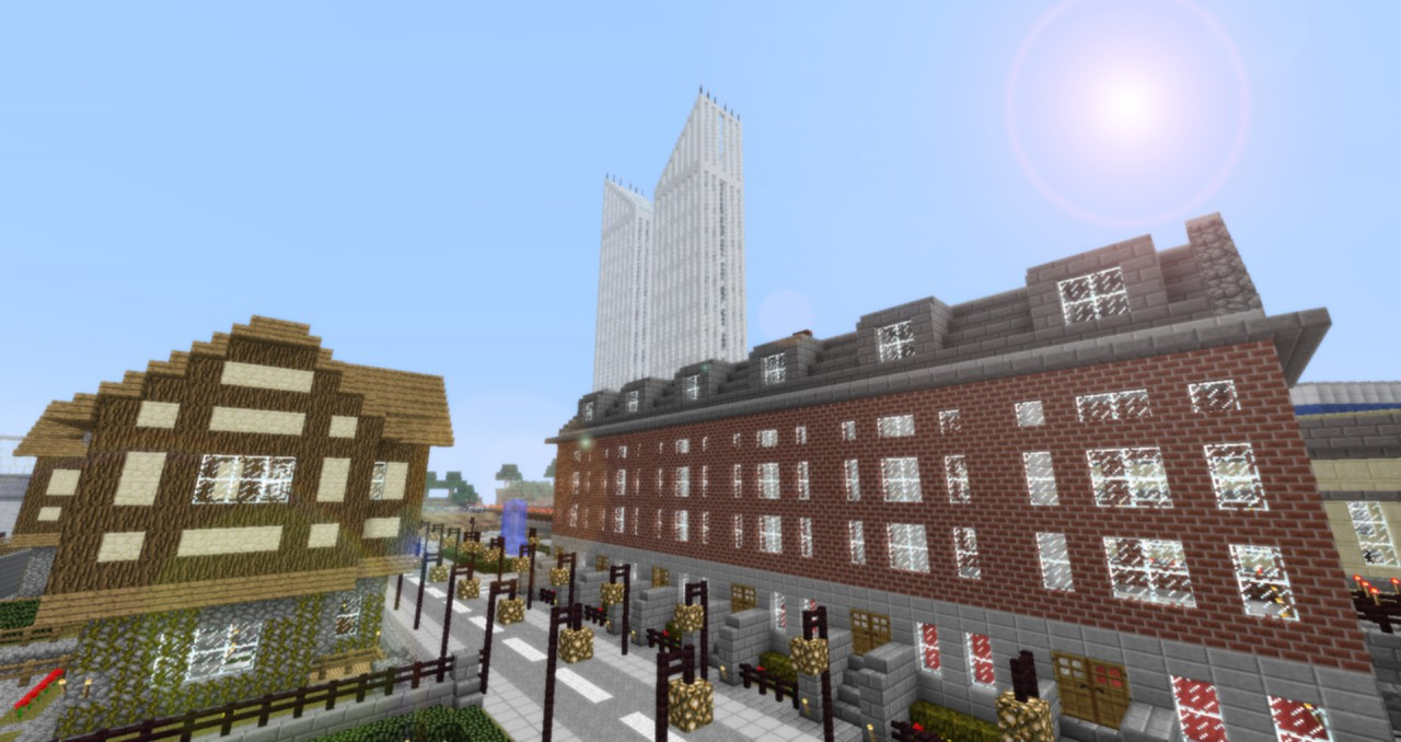 Rosavia City Modern City Project Download Now