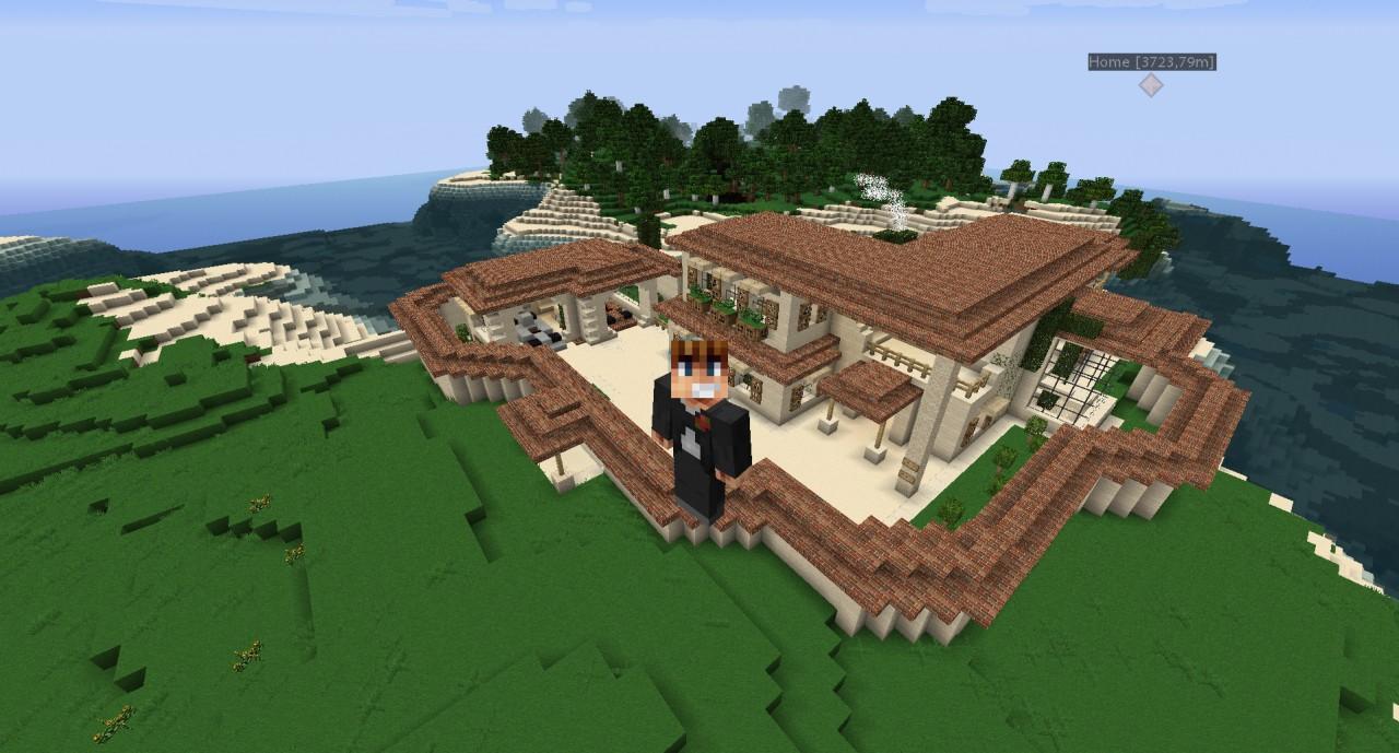 Minecraft Italian Villa Blueprints Images