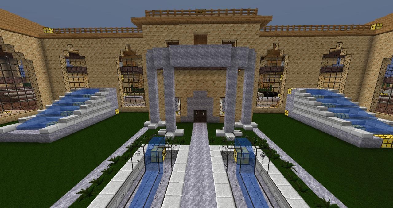 Large Hacienda Download Minecraft Project