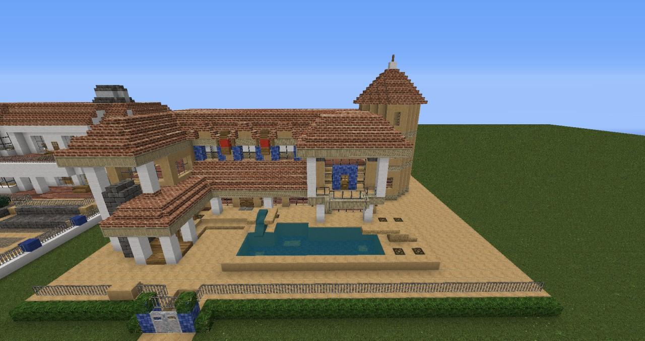 Moderne Villa Mit RedstoneTechnik Minecraft Project - Minecraft haus bauen lernen