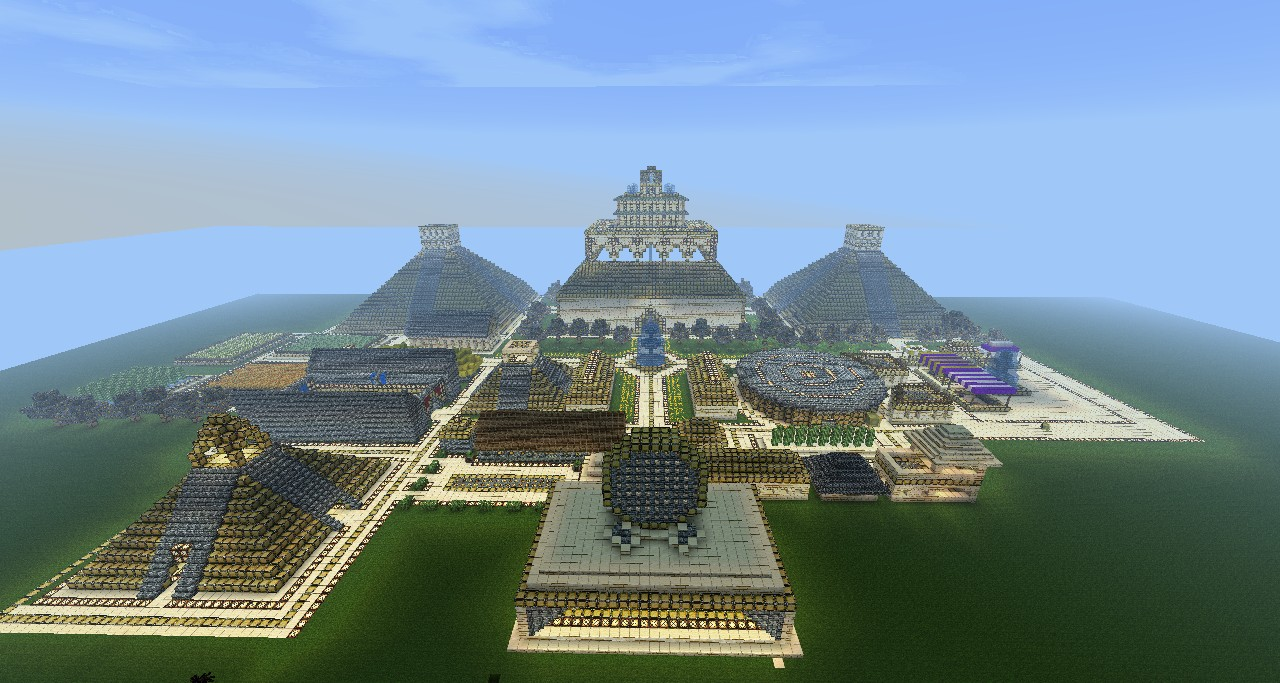 The Lost City Of Gold Minecraft Project