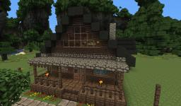 Large Farmhouse - Architecturally Beautiful Minecraft Map & Project
