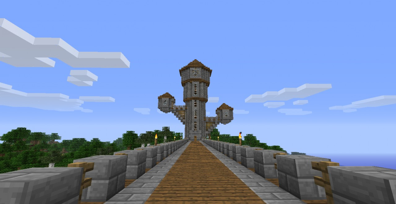 how to build a mage tower in minecraft