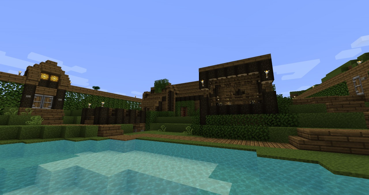MY GIRLFRIEND HOUSE I MADE // SURVIVAL 4 PEOPLE.