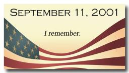 Remember 9/11 - Together we are Strong