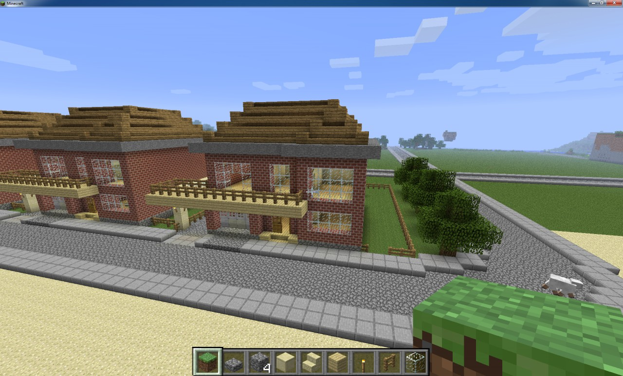 Small beach house minecraft project for Project house
