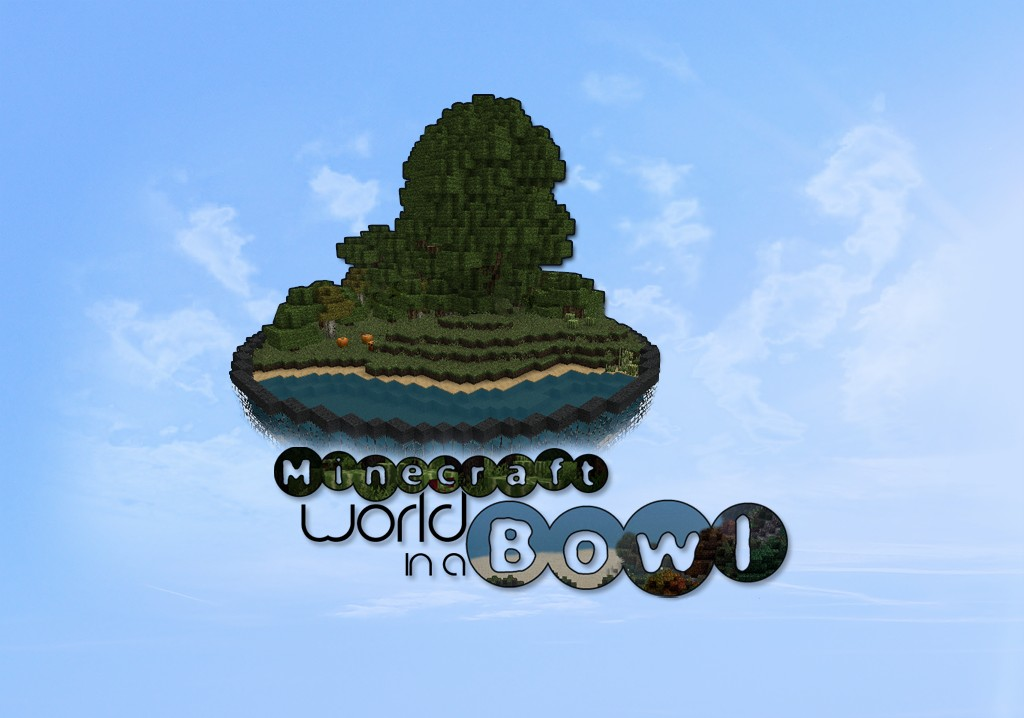 Minecraft World In A Bowl Minecraft Project - Bowling map para minecraft 1 10