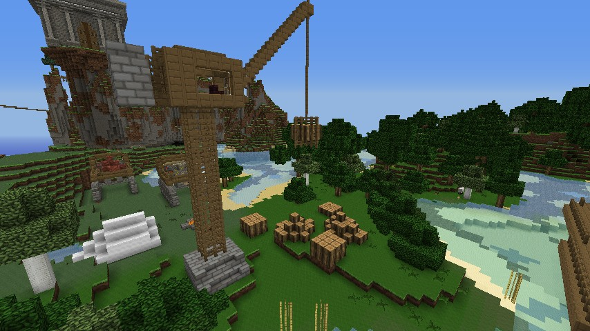 The construction site minecraft project - Video minecraft construction ...