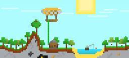 Forest home pixel art [Dinow's contest] Minecraft