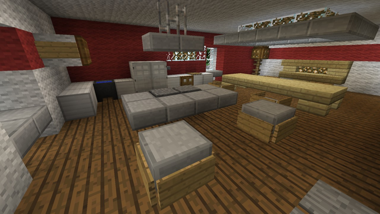 K che kitchen minecraft project - Minecraft inneneinrichtung ...