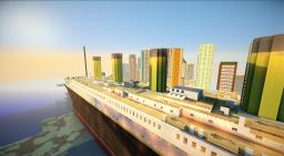 TITANIC : departure, travel and sinking Minecraft Blog