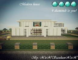 Modern house review by xxxSasuKunxxx Minecraft