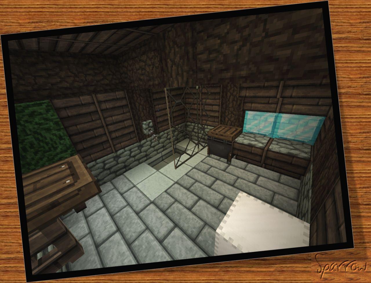 Interior Downstairs Bathroom Redstone Shower