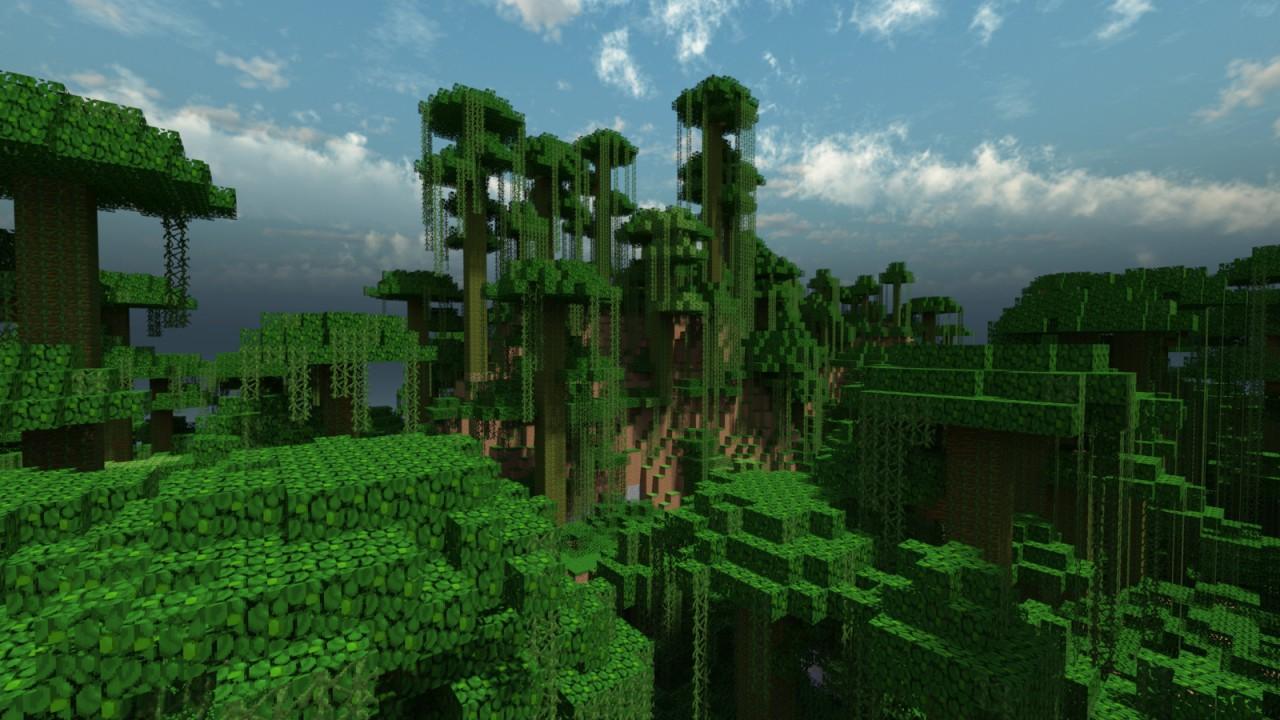 Minecraft Jungle Render Minecraft Blog